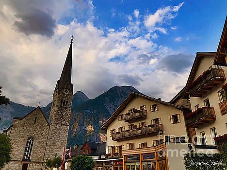 Village Hallstatt by Jacqueline Faust
