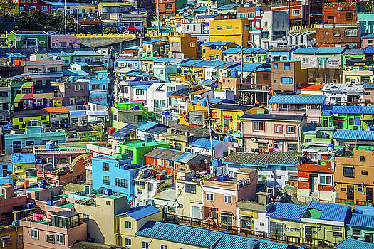 Village in colors by Hyuntae Kim