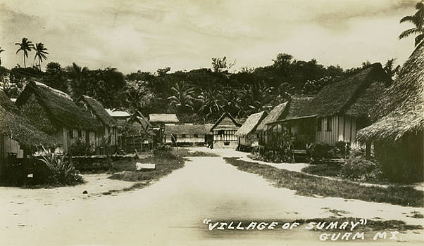Village of Sumay Guam by eGuam Photo