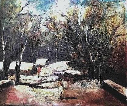 Village Road-3  by Prakash Sree S N