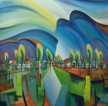 Village Symphony by Tang Hong Lee