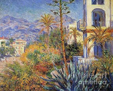 Monet - Villas At Bordighera II