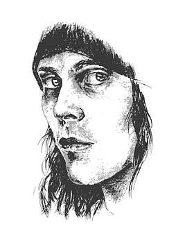 Ville Valo Portrait by Alexandra-Emily Kokova