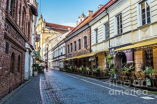 Vilnius oldtown street ,Lithuania by Mariusz Prusaczyk