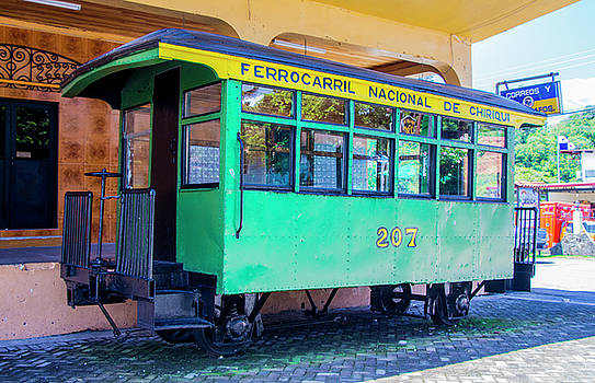 Venetia Featherstone-Witty - Vintage Cable Car in David Panama