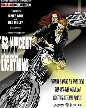 Vincent Black Lightening by David Fossaceca