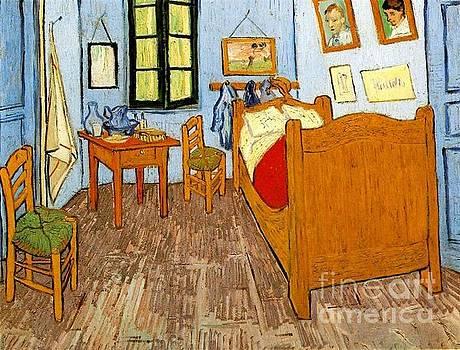 Van Gogh - Vincent s Bedroom In Arles