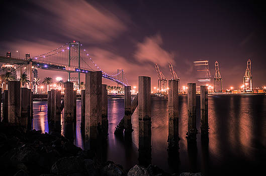 Vincent Thomas Bridge by Carlos Sanchez