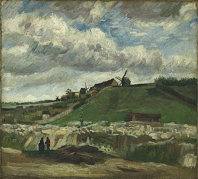 Vincent Van Gogh, The Hill Of Montmartre With Stone Quarry, Paris by Artistic Panda