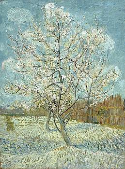 Vincent Van Gogh, The Pink Peach Tree by Artistic Panda