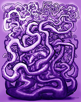 Vines of Purple by Kevin Middleton