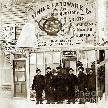 Vining Hardware Co. Circa 1898 by California Views Mr Pat Hathaway Archives