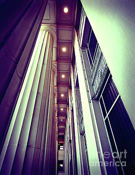 Vintage Aesthetic Pillars by Phil Perkins