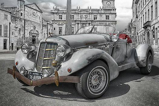 Vintage AUBURN Speedster 1936 by Joachim G Pinkawa