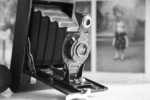 Vintage ...Autographic Brownie in Monochrome  by Lynn England