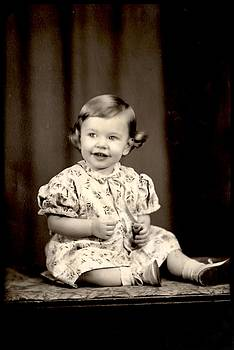 Vintage Baby Photograph by Kyle J West