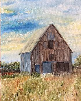 Vintage Barn by Linda Clark
