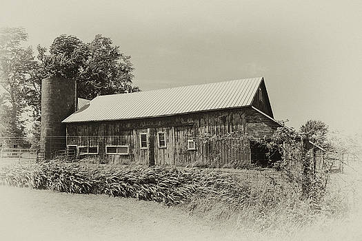 Vintage Barn by Mary Timman