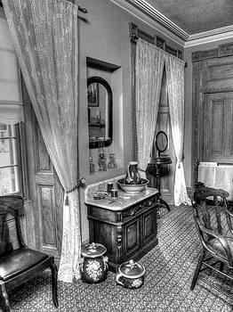 Vintage Bathroom by Lynette McNees
