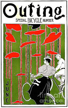 Vintage Bicycle Issue 1896 by Padre Art