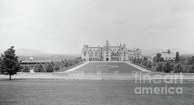 Vintage Biltmore Estate Circa 1895 in Asheville NC  by Dale Powell