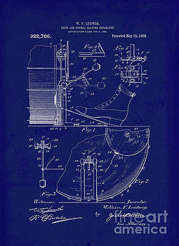 Tina lavoie artwork collection vintage blueprints tina lavoie vintage blueprint drum and cymbal playing apparatus malvernweather Image collections