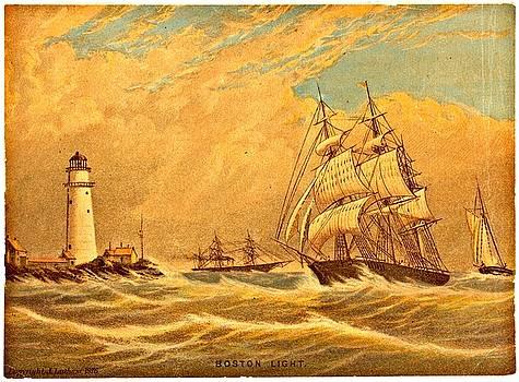 Vintage Boston Illustrations - Vintage Boston Illustration 8