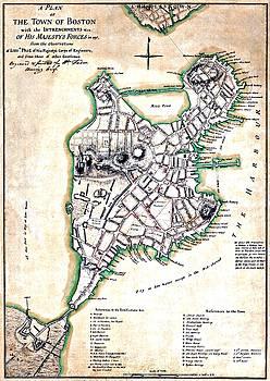 Vintage Boston Maps - Vintage Boston Map 1