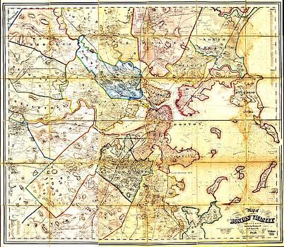 Vintage Boston Maps - Vintage Boston Map 10