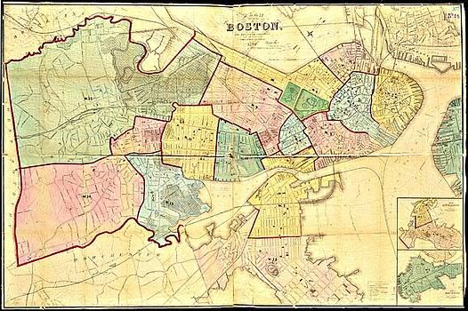 Vintage Boston Maps - Vintage Boston Map 11