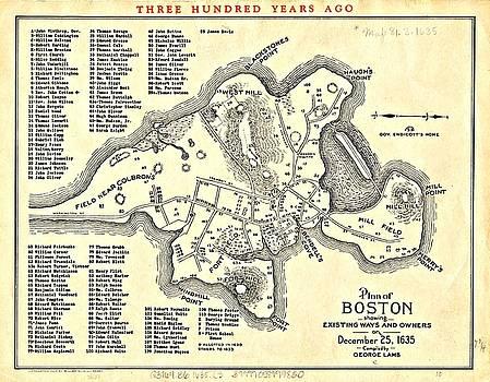 Vintage Boston Maps - Vintage Boston Map 22