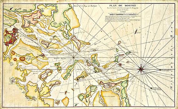 Vintage Boston Maps - Vintage Boston Map 23