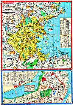 Vintage Boston Maps - Vintage Boston Map 26
