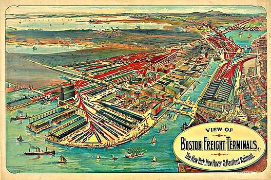 Vintage Boston Maps - Vintage Boston Map 27