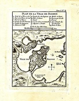 Vintage Boston Maps - Vintage Boston Map 3