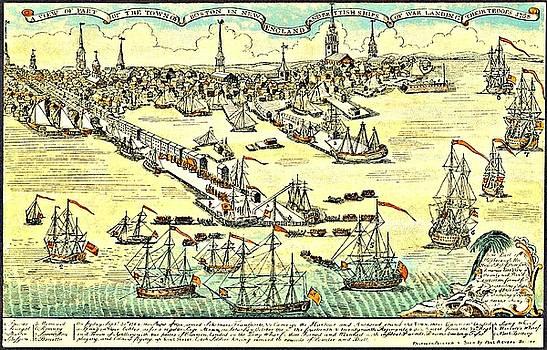 Vintage Boston Maps - Vintage Boston Map 4
