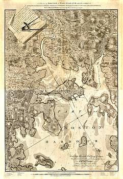 Vintage Boston Maps - Vintage Boston Map 6