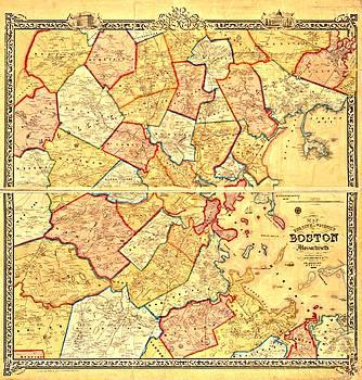 Vintage Boston Maps - Vintage Boston Map 8