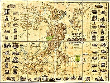 Vintage Boston Maps - Vintage Boston Map 9