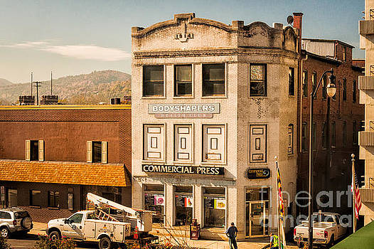 Kathleen K Parker - Vintage Building in a Small Town
