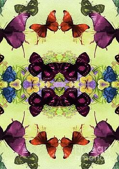 Sarah Kirk - Vintage Butterfly Pattern