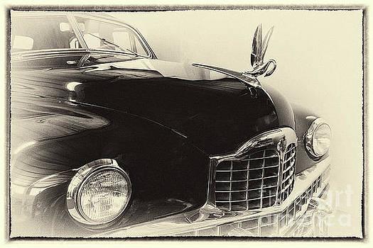 Vintage Cadillac 62, hood ornament, framed by Vyacheslav Isaev