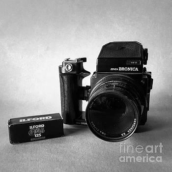 Vintage Camera by John Edwards