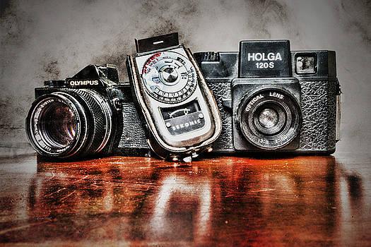 Sharon Popek - Vintage Cameras and Light Meter
