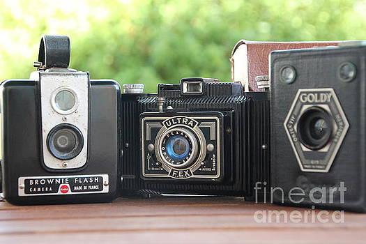 Vintage Cameras  by Lynn England