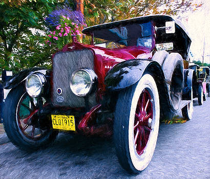 Vintage Car in Coupeville by Rick Lawler