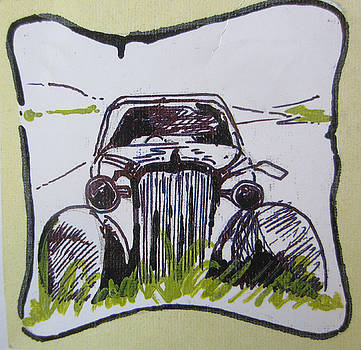 Vintage car by Pallavi Karve