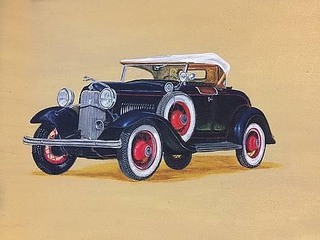 Vintage car  by Yash Verma
