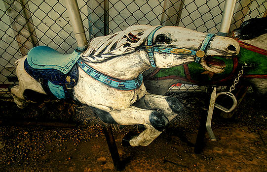 TONY GRIDER - Vintage Carousel Horses 011