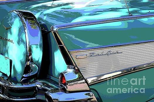 Vintage Chevrolet Belair by The Art of Alice Terrill